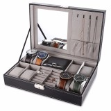 Multifunctional 8 Watch Box Jewelry Organizer Intl For Sale
