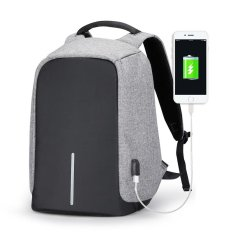 Retail Multifunctional Anti Theft Business 15 6 Inch Laptop Backpack With External Usb Charging Port Sch**l Bags For Teenagers
