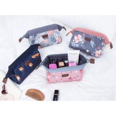 Get The Best Price For Natura Multi Pouch Dark Grey Floral