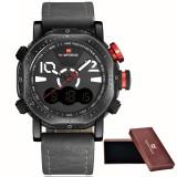 Price Naviforce 9094 Watches Men Luxury Brand Fashion Casual Watch Quartz Clock Men Sport Watches Men S Leather Military Wrist Watch Box Intl On China