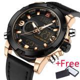 Naviforce Luxury Brand Men Analog Digital Leather Sports Watches Men S Army Military Watch Man Quartz Clock Relogio Masculino Price Comparison