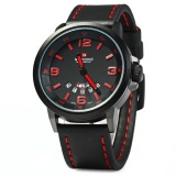 Cheap Naviforce Nf9028 Men Quartz Watch Analog Wristwatch Date Watches Pu Strap Intl Online