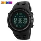 Low Cost Nbju Skmei 1250 Men Smart Watch Bluetooth Pedometer Calories Chronograph Fashion Outdoor Sport Backlight Waterproof Man Wristwatches Black Intl