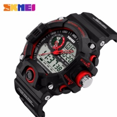 Promo Nbs Special Offer Skmei Shock Men Sports Watches Led Digital Watch Fashion Brand Outdoor 50M Waterproof Wristwatch Military Relogio Masculino (Red) Intl