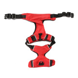 New Adjustable Reflective Nylon Pet Dog Puppy Harness Vest Collar Walking Safety Red M Price