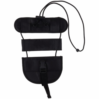 NEW Bag Bungee Strap Luggage Backpack Carrier Travel Helper Suitcase Strap Black