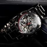 Best New Men Fashion Skeleton Automatic Mechanical Gunmetal Case Sport Wrist Watch Pmw207 Intl