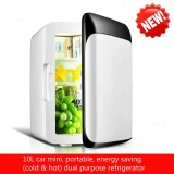 Who Sells New Mini Mini Fridge Dormitory Small Family Home Car Dual Use 10L Large Capacity Cold Hot Dual Purpose Refrigerator Intl