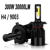Low Price New Pair Of 9003 H4 6000K Led Total 300W 30000Lm Combo Headlight High Low Beam Intl