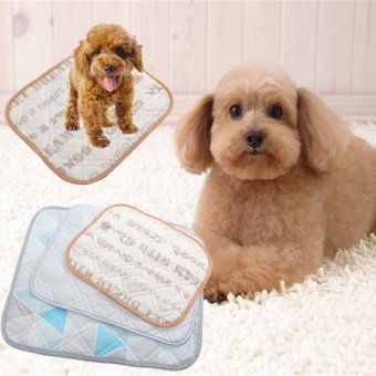 New Pet Pad Bed Mat Dog Cooling Cat Summer Cushion Cool Water Sleeping Pad cozy M