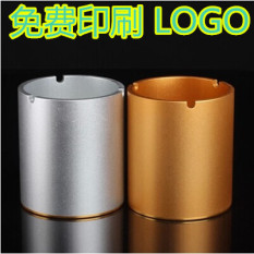 New Style Bar KTV Ash Tray Fashion Restaurant Ash Tray Metal Trash Can Shatter-resistant Creative Ash Tray