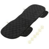 How Do I Get New Universal Size Car Rear Row Seat Cover Long Mat Auto Cushion No Backrest Black Intl