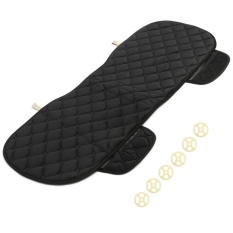 Best Price New Universal Size Car Rear Row Seat Cover Long Mat Auto Cushion No Backrest Black Intl