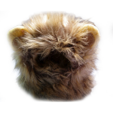 Buy New Y125 Pet Cat Dog Costume Lion Mane Wig Hat For Dog Cat Halloween Oem Online