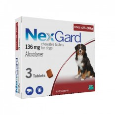 Buying Nexgard Chews For Large Dogs 25 50Kg 3 Pack