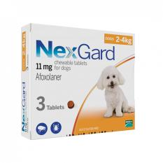 Sales Price Nexgard Chews For Very Small Dogs 2 4Kg 3 Pack