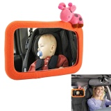 Niceeshop Baby Car Mirror Large Clear Backseat Rear View Mirror Child Infant Rear Facing Mirror Wide Angle Car Seat Mirror For Children Intl Promo Code