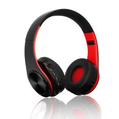 Niceeshop Bluetooth Headset, Foldable Over-Ear Wireless Wired Stereo Headphone Support Tf Card Noise Cancelling Built-In Microphone Hands-Free Phone Calling Sports Pc Gaming Earphone By Nicee Shop.