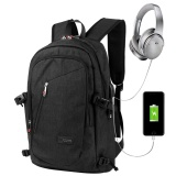 Buy Niceeshop Business Water Resistant Polyester Laptop Backpack With Usb Charging Port And Lock Fits Under 17 Inch Laptop And Notebook Black Intl Niceeshop Original