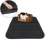 How Do I Get Niceeshop Cat Litter Mat Honeycomb Super Size Rectangular 29 5 X 21 65 With Waterproof Base Layer Intl