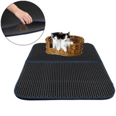 Niceeshop Cat Litter Mat Honeycomb Super Size Rectangular 29.5 X 21.65 With Waterproof Base Layer - Intl By Nicee Shop.