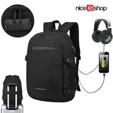 niceEshop Laptop Backpack 15.6 Inch For Men Women,Business Computer Bag, Water Repellent Anti