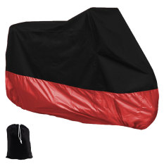 Compare Niceeshop Motorcycle Motorbike Waterproof Dust Uv Protective Cover Black Red Xxl Prices