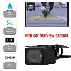 Night Vision Waterproof HD CMOS Reverse Car Rear View Backup Parking Camera LED - intl