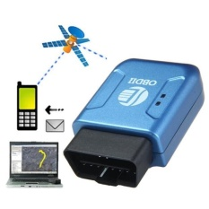 Obd2 Obdii Gps Gprs Real Time Tracker Car Vehicle Tracking System Geo-Fence - Intl By Erpstore.