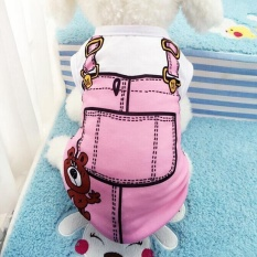 Ocean New Pet Apparel Pet Vest Dog Clothes Lovely Shirts(pink-Xl) - Intl By Ocean Shopping Mall.