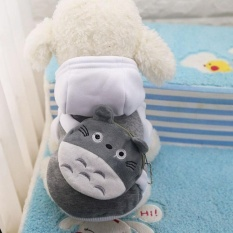 Ocean New Pet Apparel The Dog Clothes Lovely Hat Cartoon Pet Shirts(grey-Xxl) - Intl By Ocean Shopping Mall.