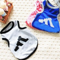 Ocean New Pet Dog Clothes Mesh Vest Ventilation Breathable Comfortable(grey-Xl) - Intl By Ocean Shopping Mall.