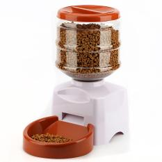 Sale Oh 5 5L Automatic Pet Feeder With Voice Message Recording And Lcd Screen White