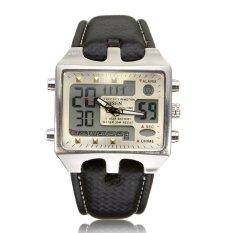 Retail Price Ohsen Analog Digital Men S Waterproof Quartz Stainless Steel Sport Wrist Watch