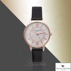 The Cheapest Olivia Burton Wonderland Black And Rose Gold Ob14Wd59 Online