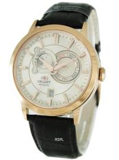 Who Sells Orient Automatic Sun Moon Phases Men S Brown Leather Strap Watch Et0P001W
