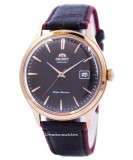Latest Orient Bambino Version 4 Classic Automatic Men S Leather Strap Watch Fac08001T0