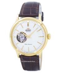 Retail Orient Classic Automatic Men S Brown Leather Strap Watch Ra Ag0003S10B