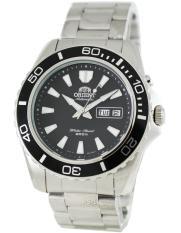 Orient Mako Men S Silver Stainless Steel Strap Watch Cem75001Br Cheap