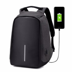 Buy Original Design Anti Theft Backpack Water Repellent Cut Resistance Travel Laptop External Usb Port Charge Intl Zikuf