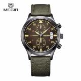 How To Get Original Megir Top Brand Luxury Leathercasual Waterproof Stopwatch For Mens Fashion Quartz Watches Men S Business Wristwatch 2021 Intl