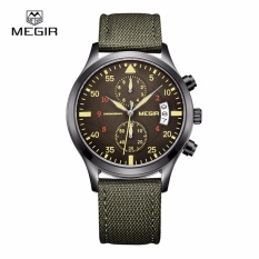 Price Compare Original Megir Top Brand Luxury Leathercasual Waterproof Stopwatch For Mens Fashion Quartz Watches Men S Business Wristwatch 2021 Intl