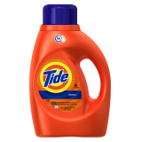 New Original Scent He Turbo Clean Liquid Laundry Detergent 50 Oz 32 Loads