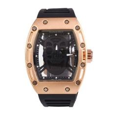 Sale Oscar Store Cool Students Fashion Wrist Watch Skull Silicone Analog Quartz Sport Gift Intl Oem Wholesaler