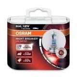 Low Cost Osram H4 Night Breaker Unlimited Headlight Bulbs