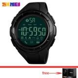 Outdoor Smart Watch Men Waterproof Skmei Brand Fashion Pedometer Remote Camera Calorie Bluetooth Womens Smartwatch Fashion Wristwatch 1326 Intl Best Price