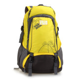 Outdoor Sports Bag Men And Women Large Backpack Yellow Intl Lower Price