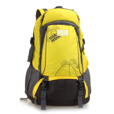 Low Cost Outdoor Sports Bag Men And Women Large Backpack Yellow Intl