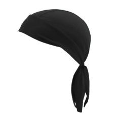Outdoor Sports Cap Scarf Breathable Quick-Dry Sunscreen Motorcycle Kerchief(black) - Intl By Sportschannel.