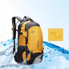 Outdoor Travel Hiking Camping Waterproof Backpack 45L Yellow Intl In Stock